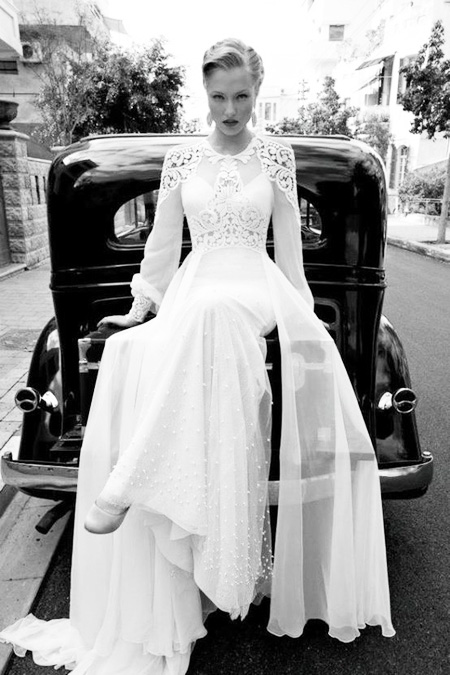 Bridal gown in Ireland from bajanwed.com