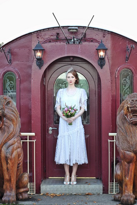 Bridal gown in Ireland from vintagepearlbridal.ie